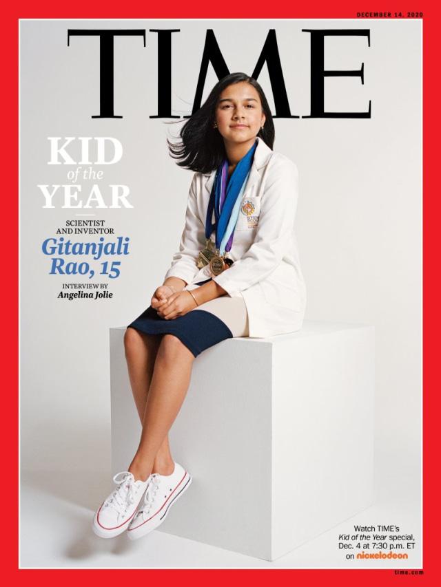 Ilmuwan 15 Tahun Dinobatkan Jadi Kid of the Year Majalah TIME (50026)