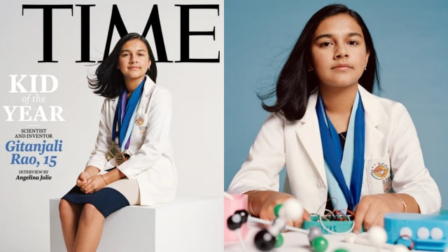 Gitanjali Rao, Remaja Perempuan 15 Tahun yang Dinobatkan Sebagai Kid of the Year (44323)
