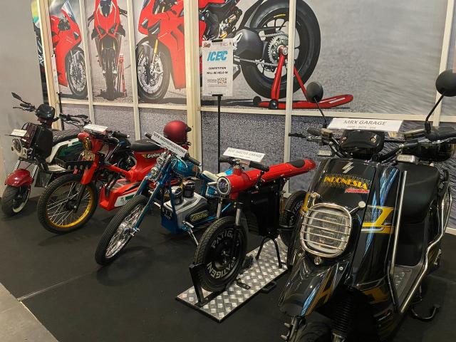 Kontes Modifikasi Motor Listrik di IIMS Motobike Show 2020  (219082)