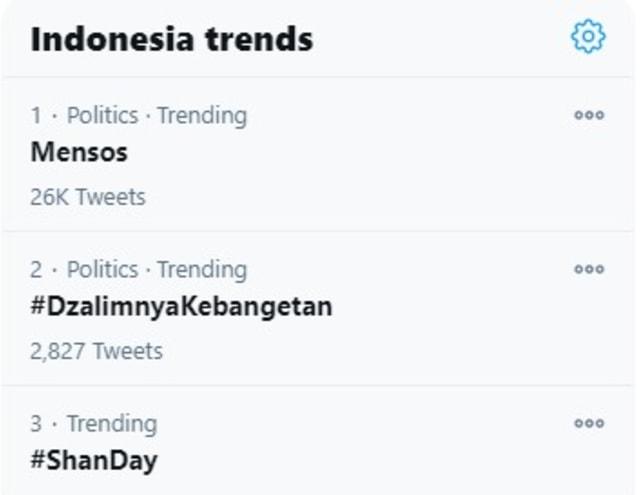 Mensos Tersangka KPK Trending di Twitter, Banyak Netizen Kesal dan Kecewa (43070)