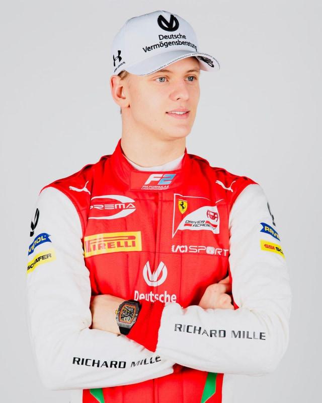Putra Michael Schumacher, Mick Schumacher, Jadi Juara Dunia F2 2020 (70824)
