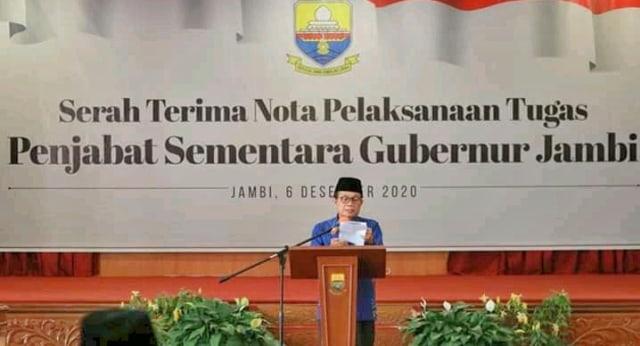Masa Cuti Kampanye Berakhir, Gubernur Jambi Kembali Bertugas (44389)