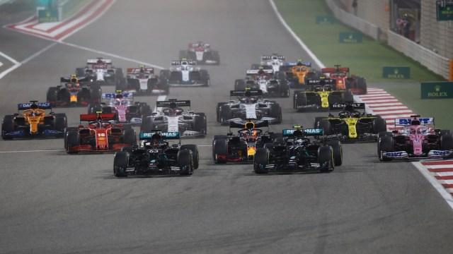 Hasil Balapan F1 GP Sakhir: Sergio Perez Menang, Verstappen Bernasib Sial (271492)