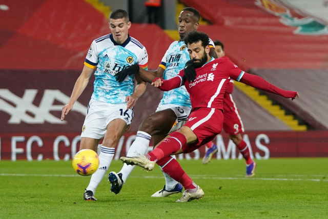 Liverpool vs Wolves: Salah Bikin Gol dan Assist, The Reds Hajar Tamunya 4-0 (30098)