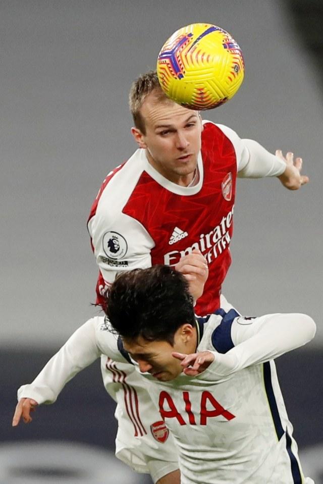 Foto: Son dan Kane Bawa Tottenham Hotspur Tundukkan Arsenal (53661)