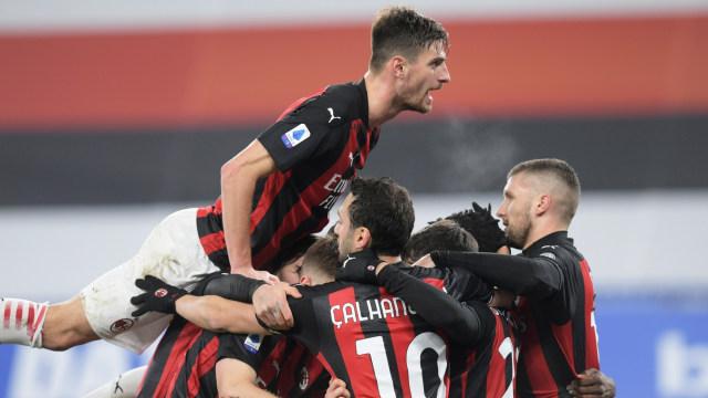 Sampdoria vs AC Milan: Raih 3 Poin di Kandang Lawan, Rossoneri Belum Terkalahkan (25422)