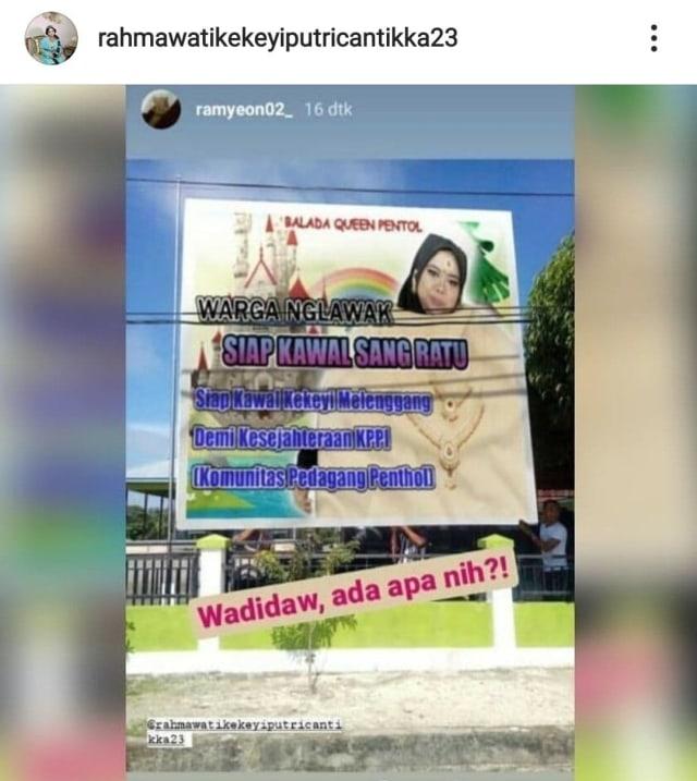 Queen of Pentol Kekeyi Lakukan Hal Ini untuk Bantu Para Pedagang (20148)