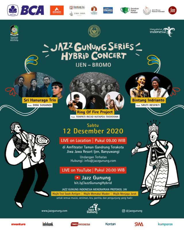 Jazz Gunung Diselenggarakan 12 Desember Mendatang dengan Konsep Hybrid Concert (49346)