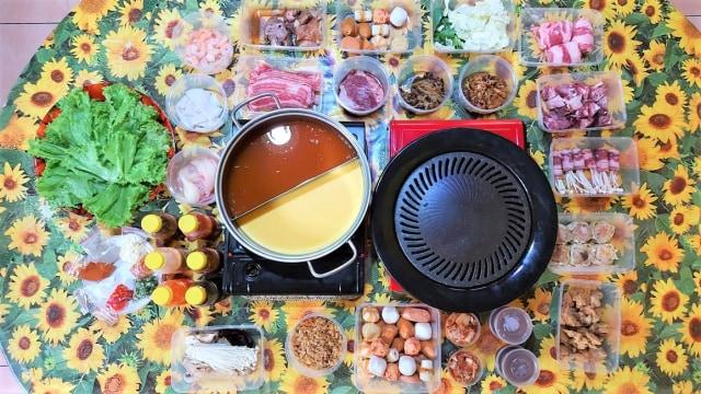 Oh! Ini Sensasi Makan All You Can Eat ala Restoran 90Bun di Rumah (34390)