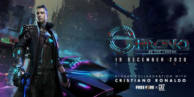 Cristiano Ronaldo Jadi Karakter di Game HP Free Fire (310623)