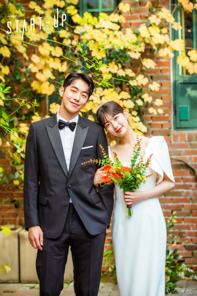 Resmi Tamat, Drama Korea 'Start-Up' Rilis Foto Nikah Nam Do San dan Seo Dal Mi (93208)