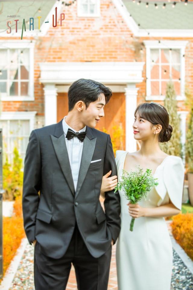 Resmi Tamat, Drama Korea 'Start-Up' Rilis Foto Nikah Nam Do San dan Seo Dal Mi (93211)