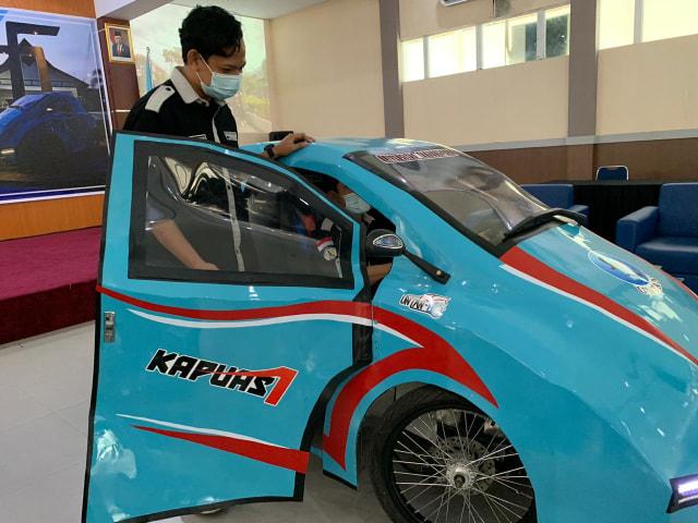 Kenalkan, Ini Mobil Listrik Pertama dari Kalbar yang Memanfaatkan Limbah Sawit (29804)
