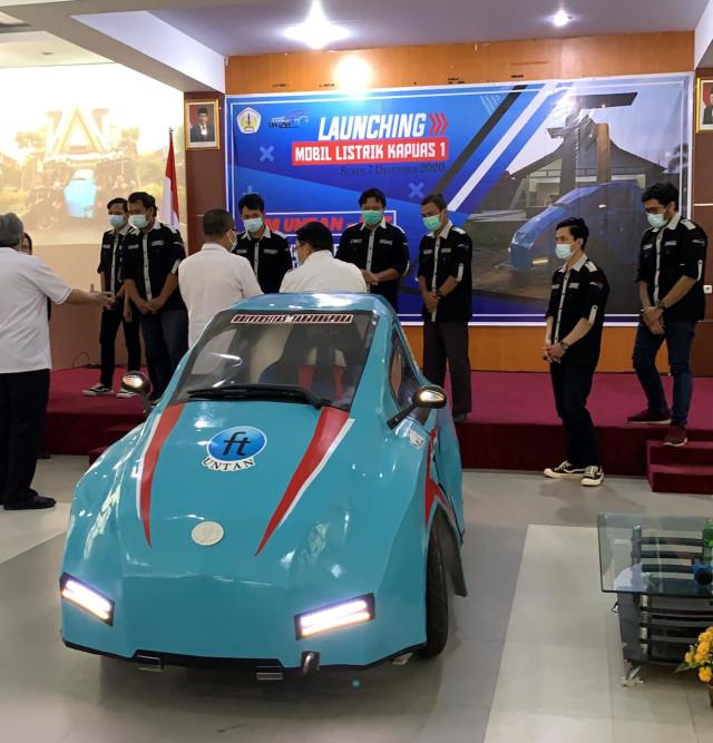 Kenalkan, Ini Mobil Listrik Pertama dari Kalbar yang Memanfaatkan Limbah Sawit (29805)