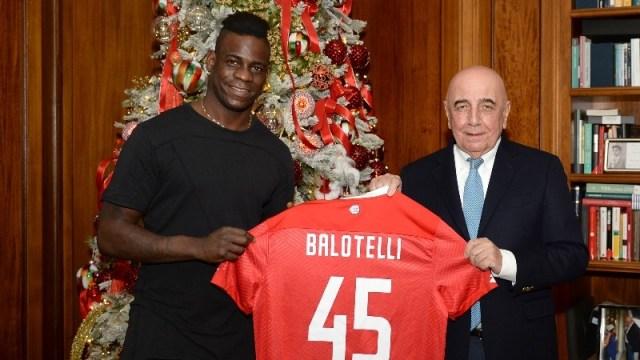 Resmi: Mario Balotelli Gabung Klub Serie B, AC Monza (27161)