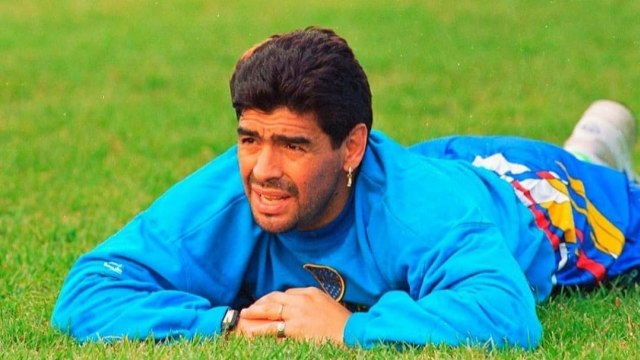Momen Tak Terlupakan Neymar  saat Bertemu Diego Maradona (14679)
