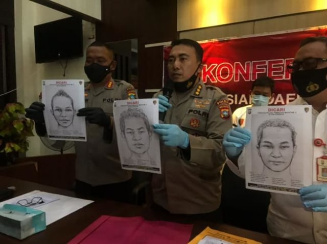Polisi Rilis 3 Sketsa Wajah Pembunuh Mayat yang Ditemukan di TPA Punggur, Batam (278367)