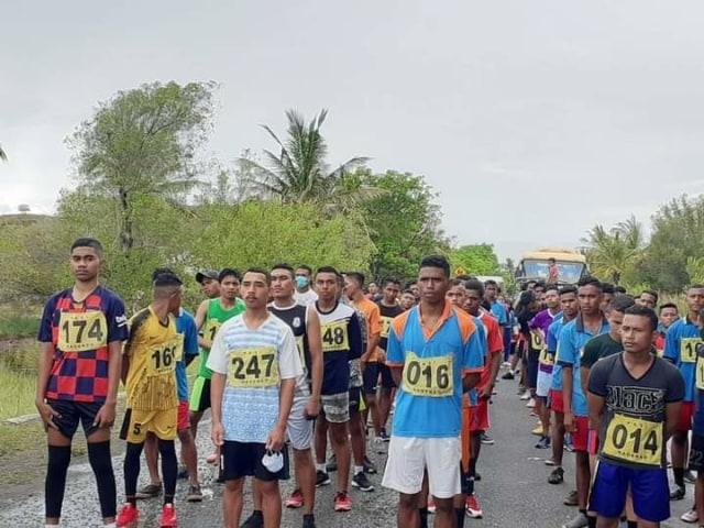 Meriahkan HUT ke-14 Kabupaten Nagekeo, Dispora Adakan Lomba Lari 10 Km (13263)
