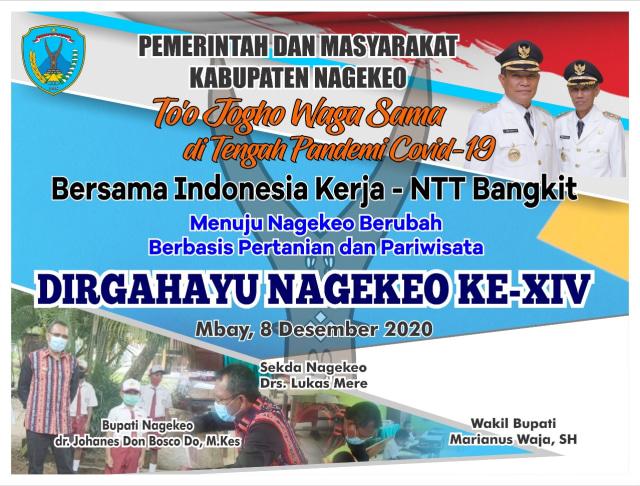 Meriahkan HUT ke-14 Kabupaten Nagekeo, Dispora Adakan Lomba Lari 10 Km (13264)