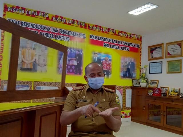 Penggunaan Mesin Anjungan Dukcapil Mandiri di Bandar Lampung Perlu Disosialisasi (73749)