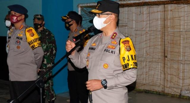 Amankan Pilkada 2020, Kapolda Jambi Pimpin Patroli Skala Besar  (541550)