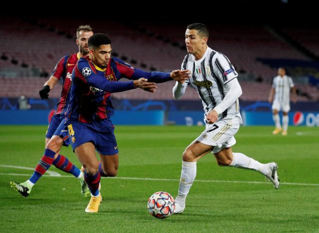 Barcelona vs Juventus: Cristiano Ronaldo Cetak Dua Gol, Bianconeri Menang 3-0 (549647)