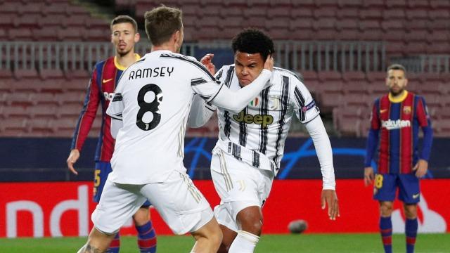 Barcelona vs Juventus: Cristiano Ronaldo Cetak Dua Gol, Bianconeri Menang 3-0 (549648)