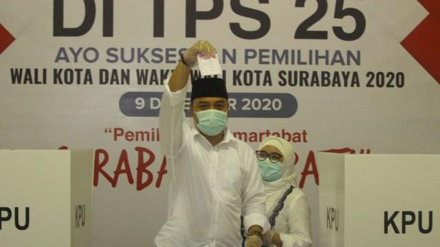 Eri Unggul, Dominasi 18 Tahun PDIP di Surabaya Berlanjut Meski Dikepung 8 Parpol (88525)
