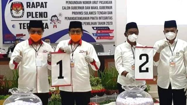 Pilgub Sulteng, Hidayat Lamakarate Unggul di TPS Rusdi Mastura (76409)