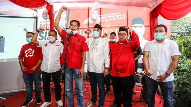 Eri Unggul, Dominasi 18 Tahun PDIP di Surabaya Berlanjut Meski Dikepung 8 Parpol (88526)