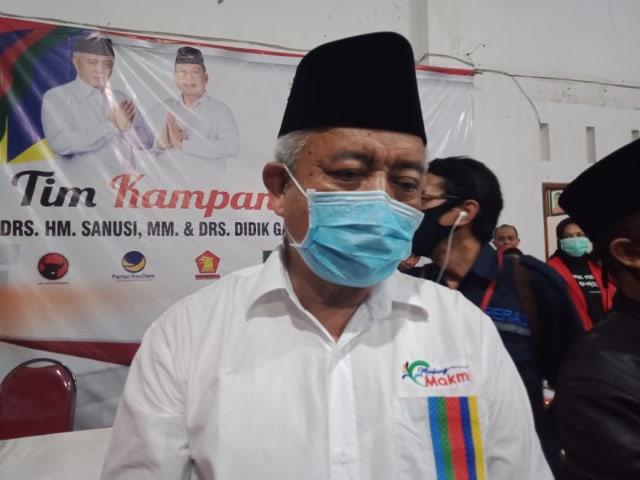 Firasat Menang, Begini Amalan Sanusi Hingga Sukses di Pilkada Malang (258216)