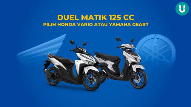 Sama-sama 125 Cc, Pilih Honda Vario atau Yamaha Gear? (23393)