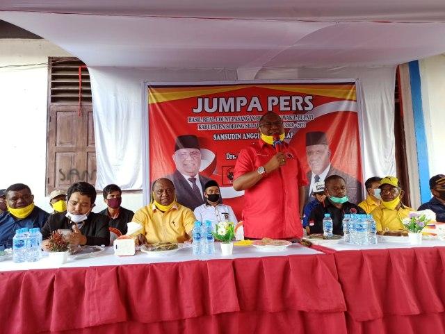 Pilkada Sorong Selatan: SAMSON Rilis Kemenangan Sesuai Hasil Hitung Cepat (446501)