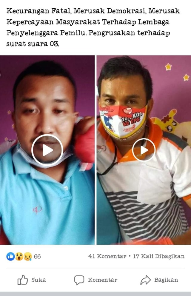 Viral Video Dugaan Perusakan Surat Suara di Pilkada Bangka Selatan (264943)