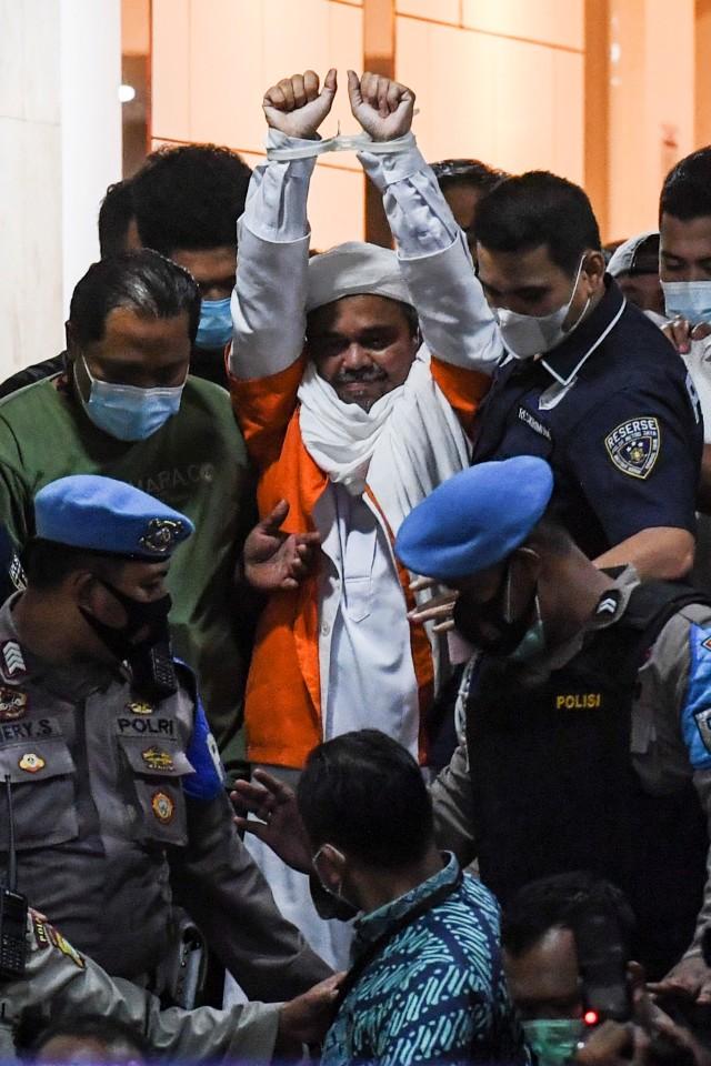 Habib Rizieq Resmi Ajukan Praperadilan di PN Jaksel (155848)