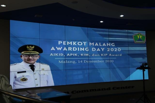 4 Jenis Penghargaan di Pemkot Malang Awarding Day 2020 dan Daftar 29 Pemenangnya