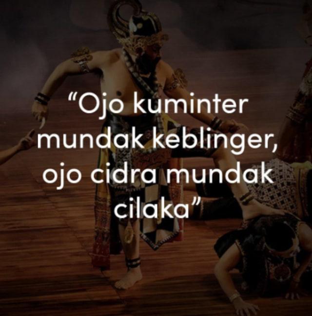 Kata Bijak Bahasa Jawa Ini Penuh Filosofi Dan Makna Yang Dalam Penasaran Kumparan Com