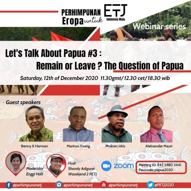 Mari Bicara Tentang Papua: Indonesia atau Merdeka? (7384)