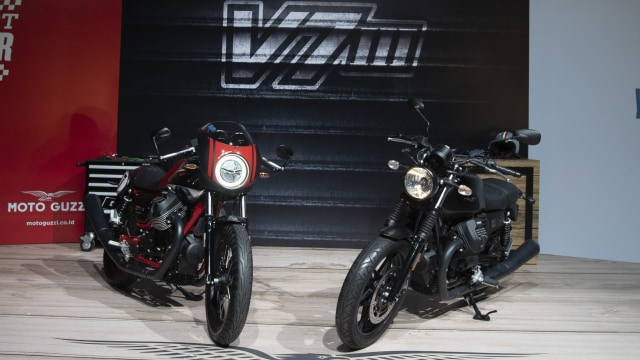 Paling Murah Rp 475 Juta dan Kemas Mesin V-Twin, Moto Guzzi V7 Terbaru Meluncur (46367)