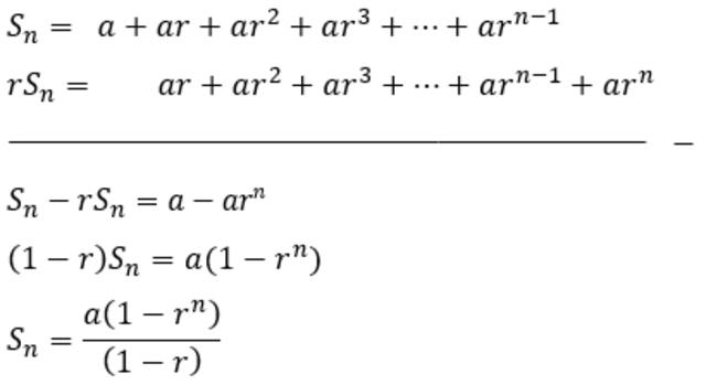 Deret Geometri Berikut Contoh Soal Beserta Jawabannya Yang Mudah Kumparan Com