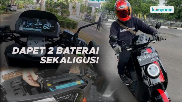 Video: Menjajal Motor Listrik NIU NGT Buat Harian, Layak Dibeli? (10875)