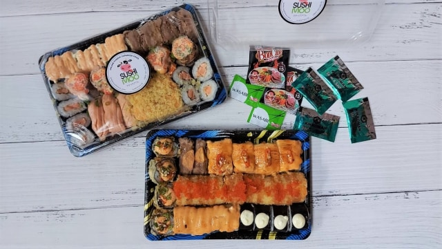 Sushimoo Sajikan Sushi Platter Halal Bercita Rasa Fusion ala Jepang-Indonesia (59030)