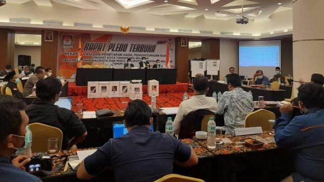 KPU Resmi Tetapkan Benyamin-Pilar Pemenang di Pilwalkot Tangsel (76043)