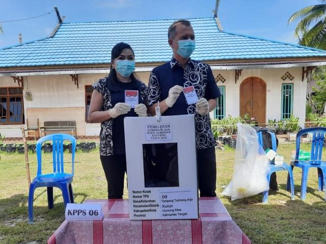 Pilkada 2020 di Kalteng: Partisipasi Pemilih di Sejumlah Daerah Menurun (323266)