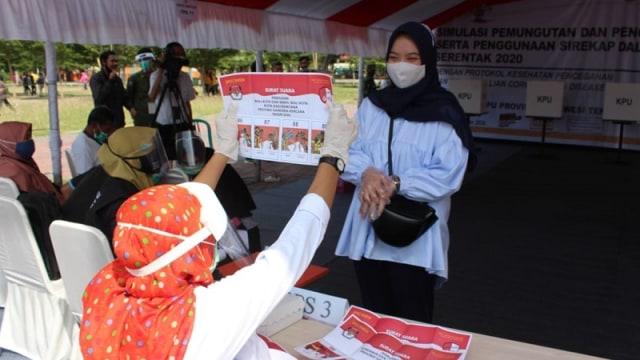 KPU Umumkan Pemenang Pilkada 2020 di Kota Palu (118724)