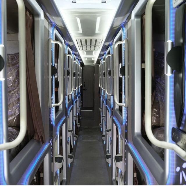 Inilah Bus Kapsul Pandawa87, Penumpang Bisa Nikmati Layanan Apa Saja? (296813)