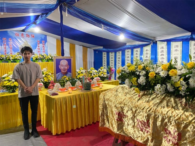 Jusin Clasic Berbelasungkawa Atas Berpulangnya Maha Pandita Kok Kim Chiung (86038)