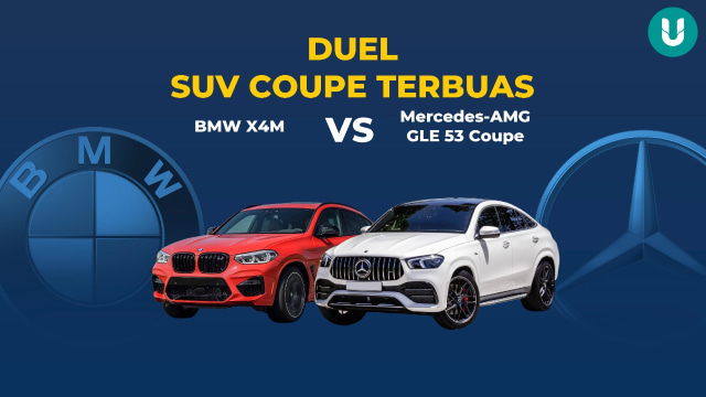 Duel BMW X4M vs Mercedes-AMG GLE 53 Coupe, Mana yang Paling Buas? (21311)
