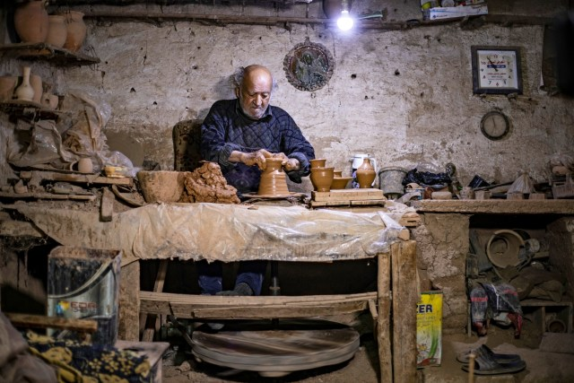 Foto: Melihat Pembuat Tembikar yang Sudah Turun-temurun di Suriah (90419)