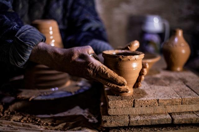Foto: Melihat Pembuat Tembikar yang Sudah Turun-temurun di Suriah (90418)